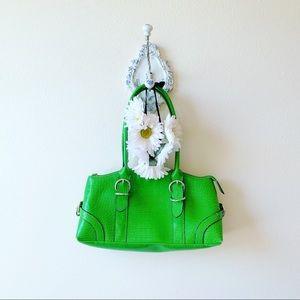 Handbags - Neon green purse